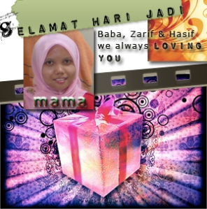 mama b`day