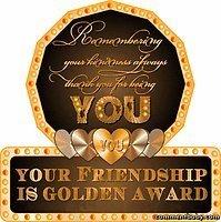 friendshipgoldenawardvanmonique
